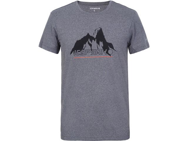 Icepeak Bayport T-Shirts Men, lead-grey